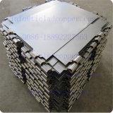 Catodo d'acciaio permanente con la barra di rame placcata di titanio del gancio per elettrolisi