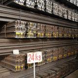Chemin de fer industriel en acier lourd