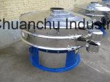 Máquina rotatoria de la pantalla de la máquina del tamiz vibratorio del acero inoxidable/del tamiz del polvo/máquina vibrante rotatoria del tamiz