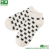 Носки лодыжки хлопка кота киски милые изготовленный на заказ