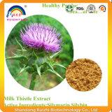 Extracto de cardo de leite com 80% de silimarina