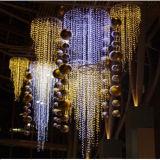 훈장을%s LED 크리스마스 고드름 빛