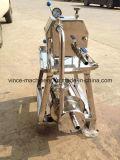 Placa de acero inoxidable y filtro del marco