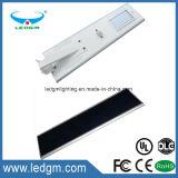 il chip esterno IP65 di 120W Bridgelux ha integrato tutti in un lampione solare del LED