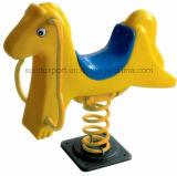 Детей кита Eco лошадь содружественных пластичных напольная тряся