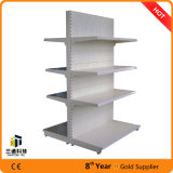 Perforado panel del metal Estante de supermercado / supermercado góndola Shelf