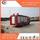 Dongfeng trockener Podwer Feuerbekämpfung-LKW 4X4