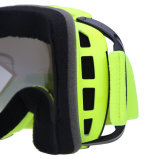 Gafas antideslizantes de esquí sin lunas, gafas de nieve