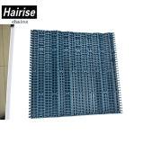 Type plat antidérapant bande de conveyeur de garniture en caoutchouc modulaire