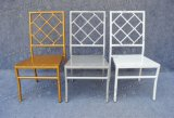 Silla al aire libre de aluminio del restaurante barato para el jardín Yc-A28-02
