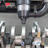 クランク軸の自動バランスをとる訂正機械