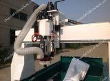 Мраморный статуя гравер CNC 3D машины трассы с вырезыванием увидела