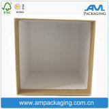 Embalagem de papelão adaptada Dongguan Embalagem Caixa de velas de presente de papel Kraft