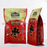 Surtidor de China y bolso modificado para requisitos particulares talla plástico laminado del empaquetado del bocado