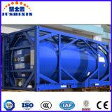 envase ácido del tanque del ácido clorhídrico del corrosivo venenoso líquido de la ISO 24cbm de los 20FT con Csc ASME