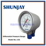 Termómetro industrial bimetálico de la agua caliente del termómetro