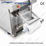 Máquina de embalagem automática da película plástica de Thermoforming dos dispositivos médicos para a seringa