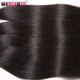Prolonge brésilienne de cheveux humains de Vierge de Remy de produit capillaire de Msbeauty