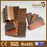 Tarjetas compuestas huecos Grieta-Resistentes materiales del Decking de WPC de China