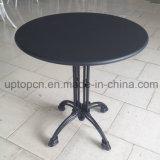 MDF 탁상용과 철 다리 (SP-RT603)를 가진 대중음식점 가구 테이블