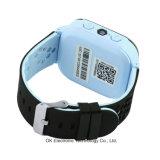 ¡Muestra libre! La llamada del teléfono 3G WiFi SOS del reloj del GPS de los cabritos embroma el reloj elegante del perseguidor