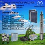 pompa solare sommergibile di CC del rotore elicoidale di 4in, irrigazione solare, pompa buona profonda