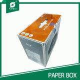 손잡이 도매를 가진 가득 차있는 플랩 주문 물결 모양 상자