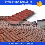 50 anni della garanzia di Milano del metallo di mattonelle di tetto rivestite di pietra variopinte con la lamiera di acciaio del galvalume di spessore di 0.4mm
