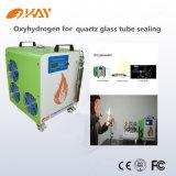 Oxyhydrogenろう付けの銅の管Oh1000 Hhoの水晶ガラス管のシーリング機械