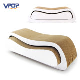 Vpop 2 em 1 base ondulada de Scratcher do gato do material Eco-Friendly