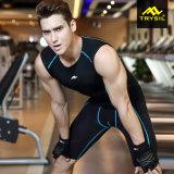 Vestito stretto degli abiti sportivi di usura di compressione del Mens per estate