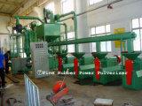 Neumático inútil que recicla las máquinas (cadena de producción de goma del polvo)