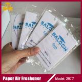 Het de nieuwe Verfrissing van de Lucht van het Document van de Auto Naar maat gemaakte/Parfum van de Auto
