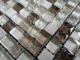 Строительные материалы огораживают и справляются стеклянная мозаика