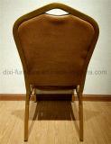 تاج [بك لثر] نجادة معدن حديد مطعم فندق مأدبة كرسي تثبيت