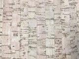 عصريّة تصميم حبة خشبيّة [بو] جلد اصطناعيّة لأنّ أحذية, حقائب, زخرفة ([هس-60])