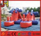 Aufblasbares Plättchen für Wasser-Spiel-aufblasbares Aqua-Plättchen