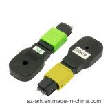 Atenuador óptico 8.1 *80* 11.3 (milímetros) de la fibra de MPO/APC