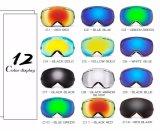 Lunettes de patinage de Snowboard de masque de ski de Snowmobile de la jeunesse