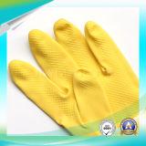 承認されるSGSが付いている働く防水検査の庭の黒の乳液の手袋