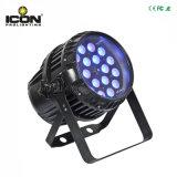 IP65 IGUALDAD del zoom 18X18W 6in1 RGBWA+UV LED para la iluminación al aire libre