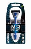Lame réglée de système de rasoir de Cartrigde rasant le rasoir pour l'homme, hommes (SL-3202)