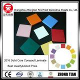 Colorear el laminado del compacto de la base