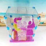 Cage de épissure faisante le coin en plastique de hamster de tigre de hamster de cage de grand de hamster de cage de hamster château de luxe de cage