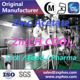 Acetato del cinc del aditivo alimenticio 2 del Zn (CH3COO)