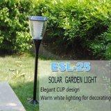 Qualitäts-wasserdichte kleine helle Aluminiumgarten-Solarlampe