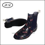 Ботинки дождя женщины способа с эластиком