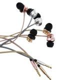 Teléfono móvil Auriculares para auriculares del teléfono celular con conexión de cable del micrófono Headest 3,5 mm para auriculares estéreo (XS-LP008)