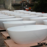 Italienisches Entwurfs-festes Oberflächenbadezimmer-freistehende Badewanne
