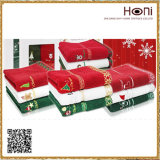 De Reeksen van de Handdoek van Kerstmis, de Reeksen van de Handdoek Face&Bath, de Katoenen van 100% Reeksen van de Handdoek